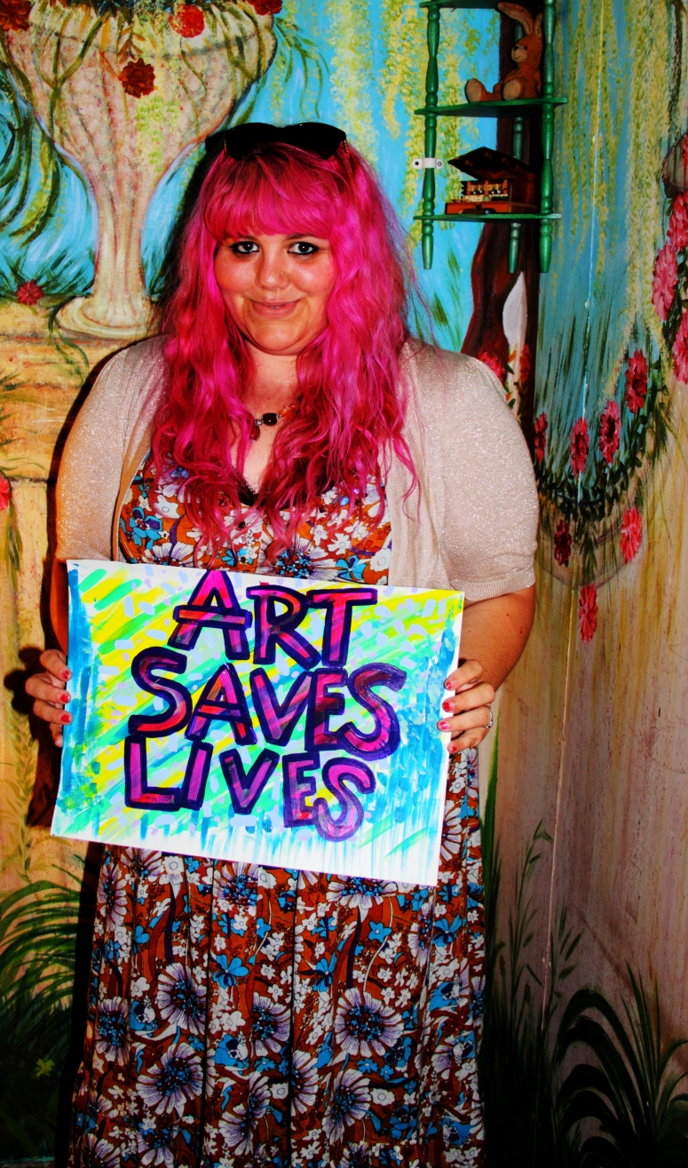 Charlotte - Art Saves Lives International - Launch Night for the Bursledon House Project and Exhibition