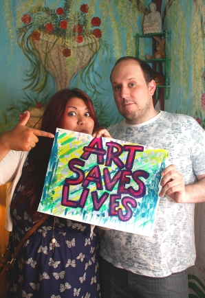 Lesley and John - Art Saves Lives