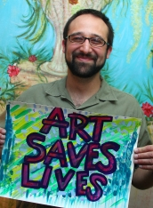 Mohammed - Art Saves Lives International - Launch Night for the Bursledon House Project and Exhibition