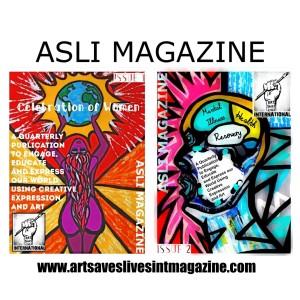 ASLI MAGAZINE (2) art by Charlotte Farhan