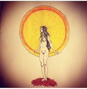 By Amy Sodapop Dominey Sun Goddess @ymayenimodart