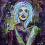 Heather Carr • Хезер Self-taught artist in Seattle, exploring the darker side of life. Follow me, I'm going places...❇️ http://heatherunderground.com