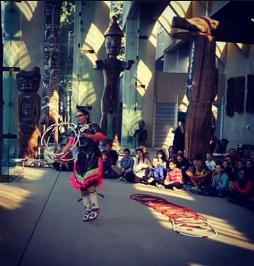 http://www.indigenousdancestudio.ca @hoopdancer01
