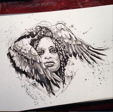 By Ivy Gowen Tattoo artist @ metamorphosis custom tattoo in Winnipeg Manitoba Canada http://www.ivygowen.com
