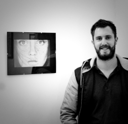 Artist with work in our pop up exhibition Paul Brian Photography By Iain Turrell