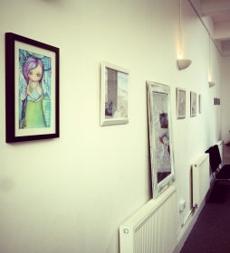 Art work in our pop exhibition for Mental Illness, Health and Recovery Photography By Iain Turrell