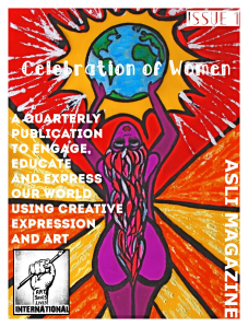 Issue 1 – Celebration of Women – ASLI MAGAZINE